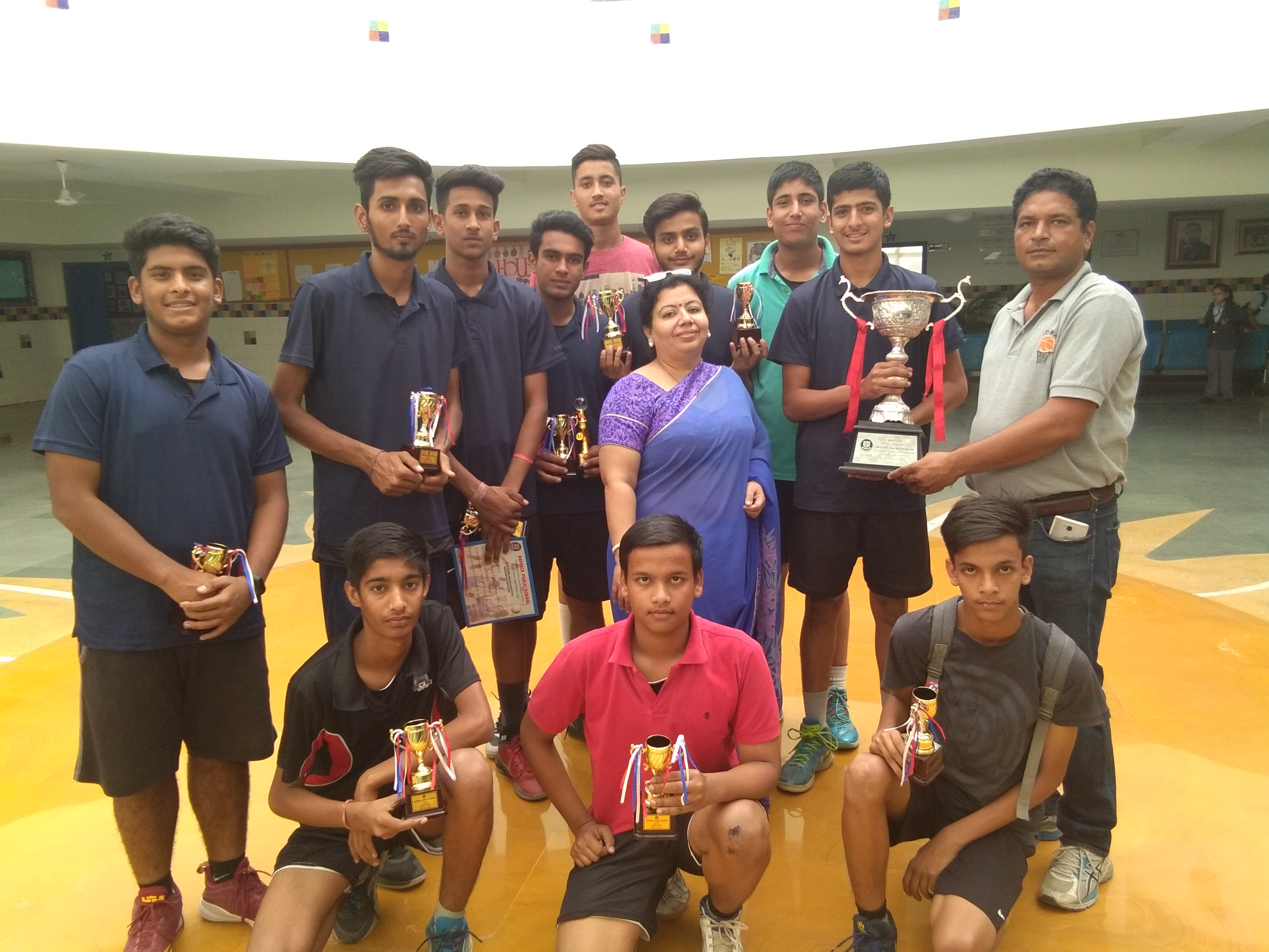 Sanskar School wins 'Abhyas Basketball Tournament' and declared Runners Up in 'V Mayur Basketball Tournament'