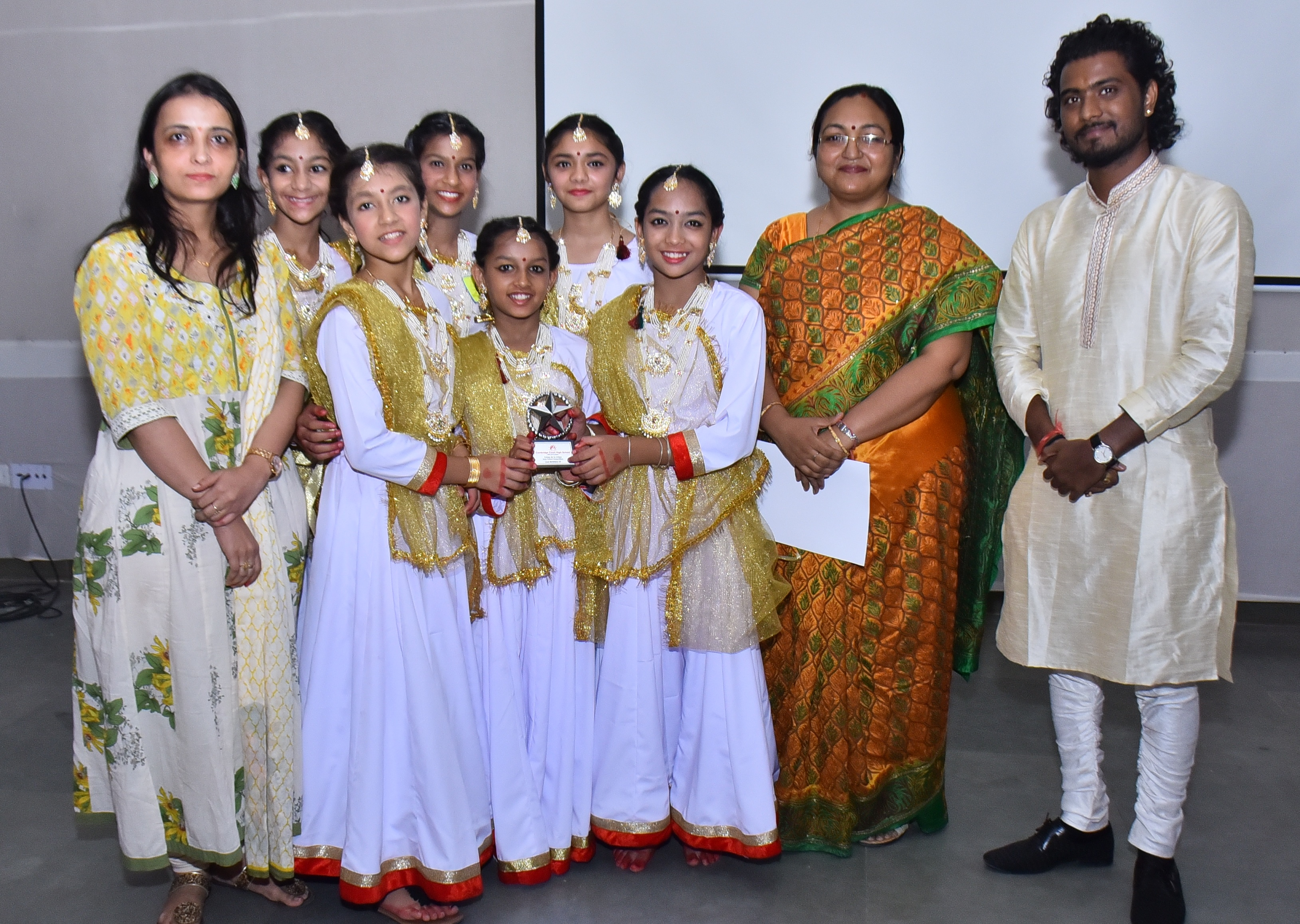 Victory for Sanskar Dance Champs