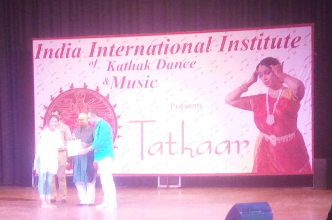 Charu Sharma wins the State Level Solo Semi-Classical Dance Competition