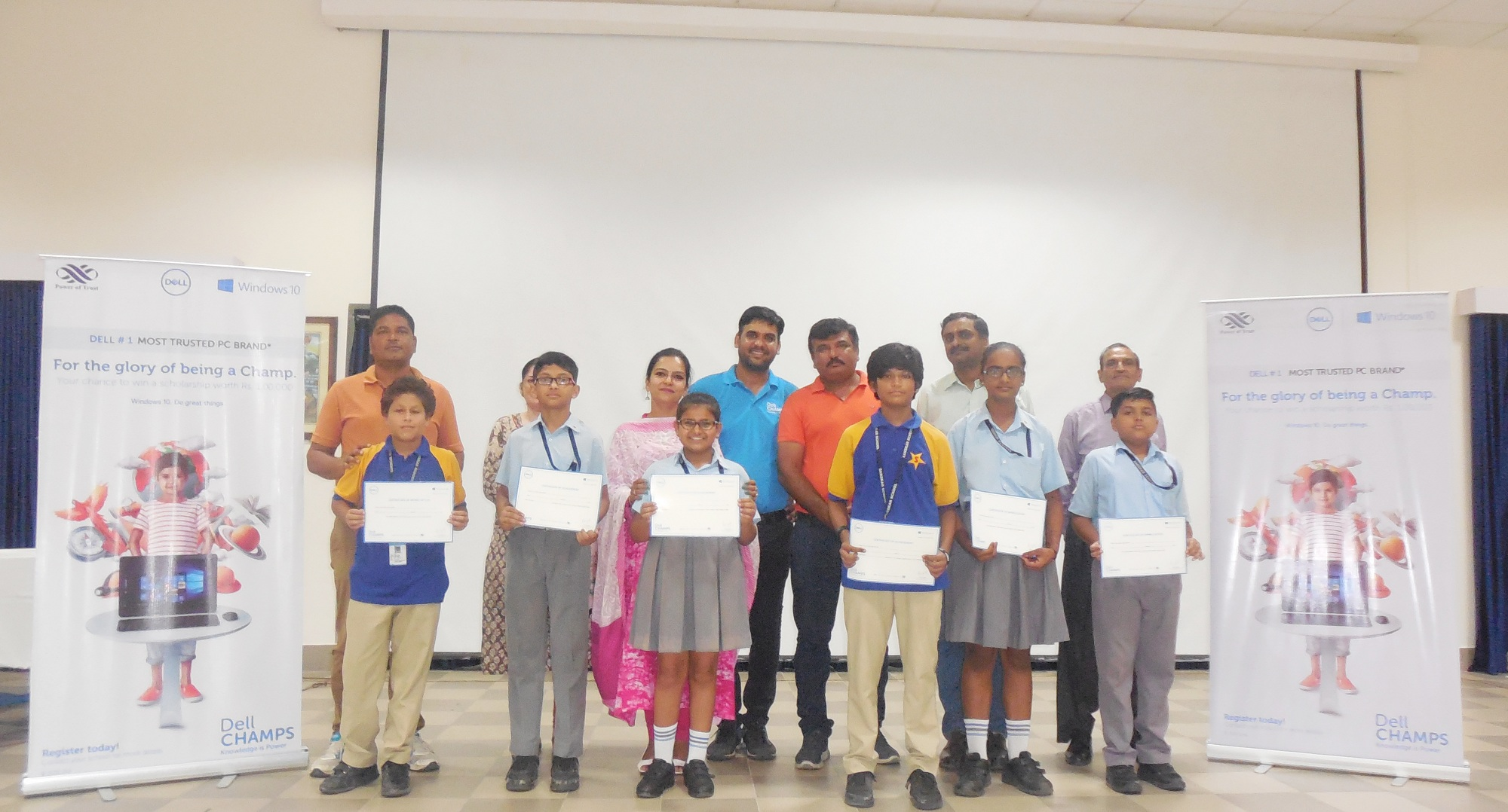 DELL Champs 2018 hosted at Sanskar School