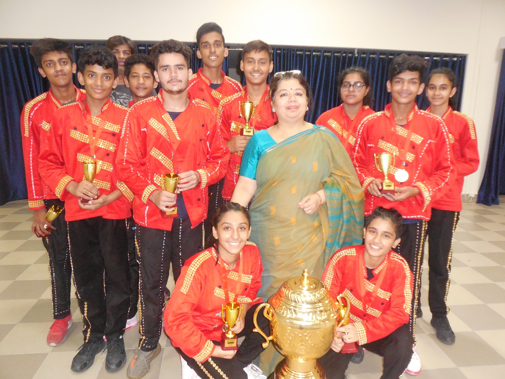 Sanskar Dance Champs clinch D'fest 2018