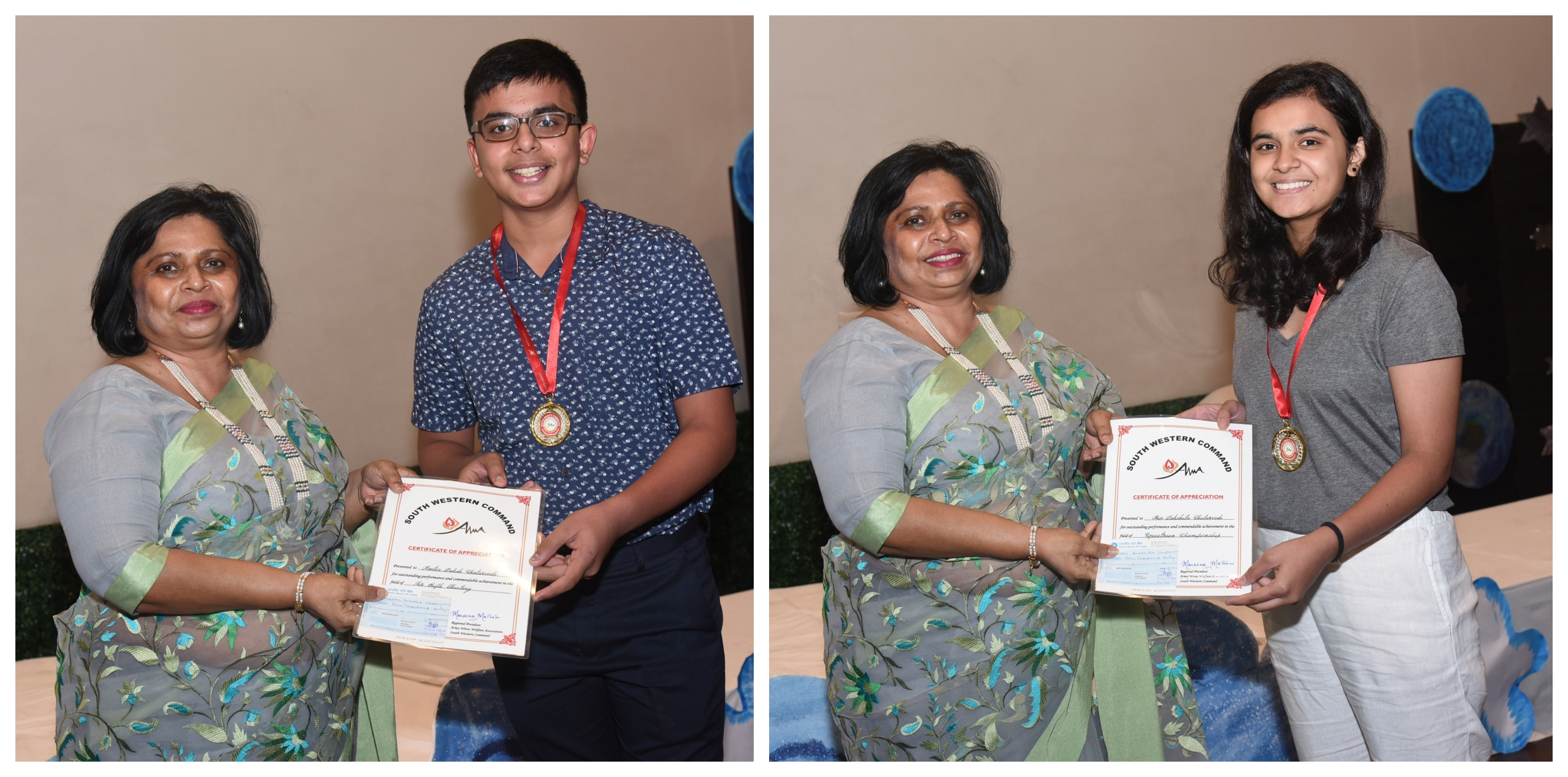 Sanskar students honoured for outstanding performance in Sports