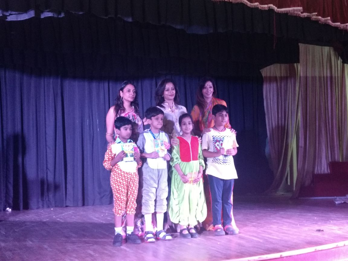 Sanskar School achieves Third position in Flair Fest 2017