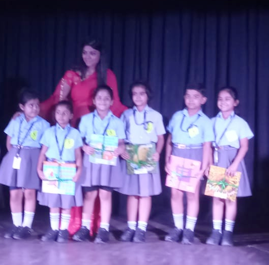 Sanskar School winners at Flair Fest 2018