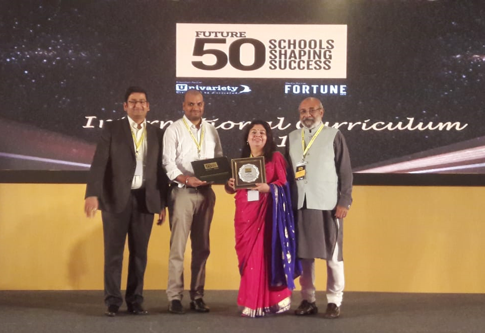 Sanskar School once again recognised as 'FUTURE 50 SCHOOLS SHAPING SUCCESS'