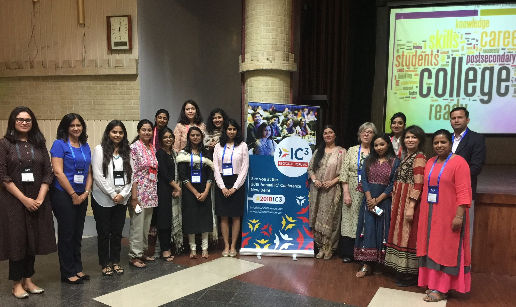 Sanskar faculty attends 2018 IC3 Regional Forum - Jaipur