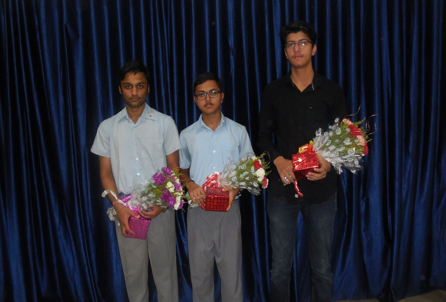 Sanskar School IITJEE Mains Toppers