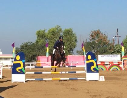 Sanskar School's Mandatar Singh Tanwar wins medals at Junior National Equestrian Championship 2017