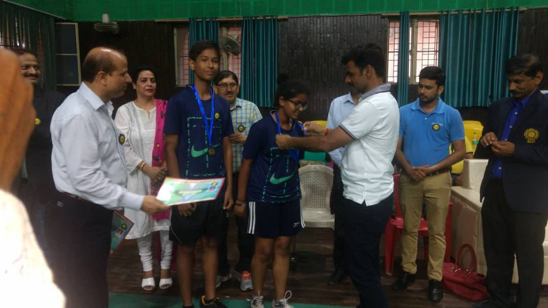 Sanskar student wins Silver and Bronze medal in Pickleball Championship 2017-18