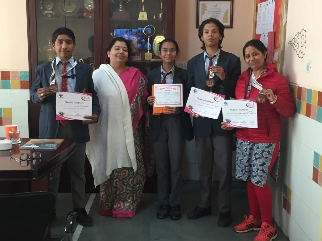 Sanskar students win Chinmaya Mission Annual Geeta Chanting Competition