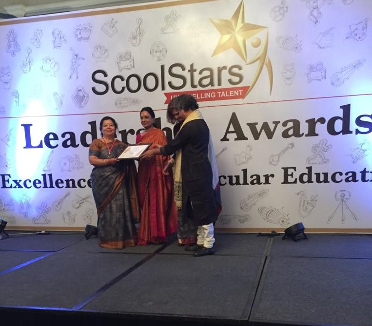 Sanskar School bestowed with ScoolStars Leadership Award