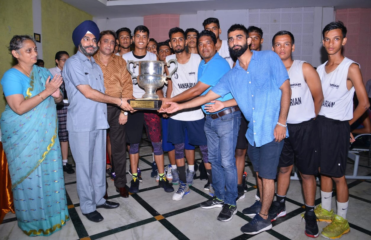 Sanskar School wins 14th Seedling Challenger Basketball Tournament