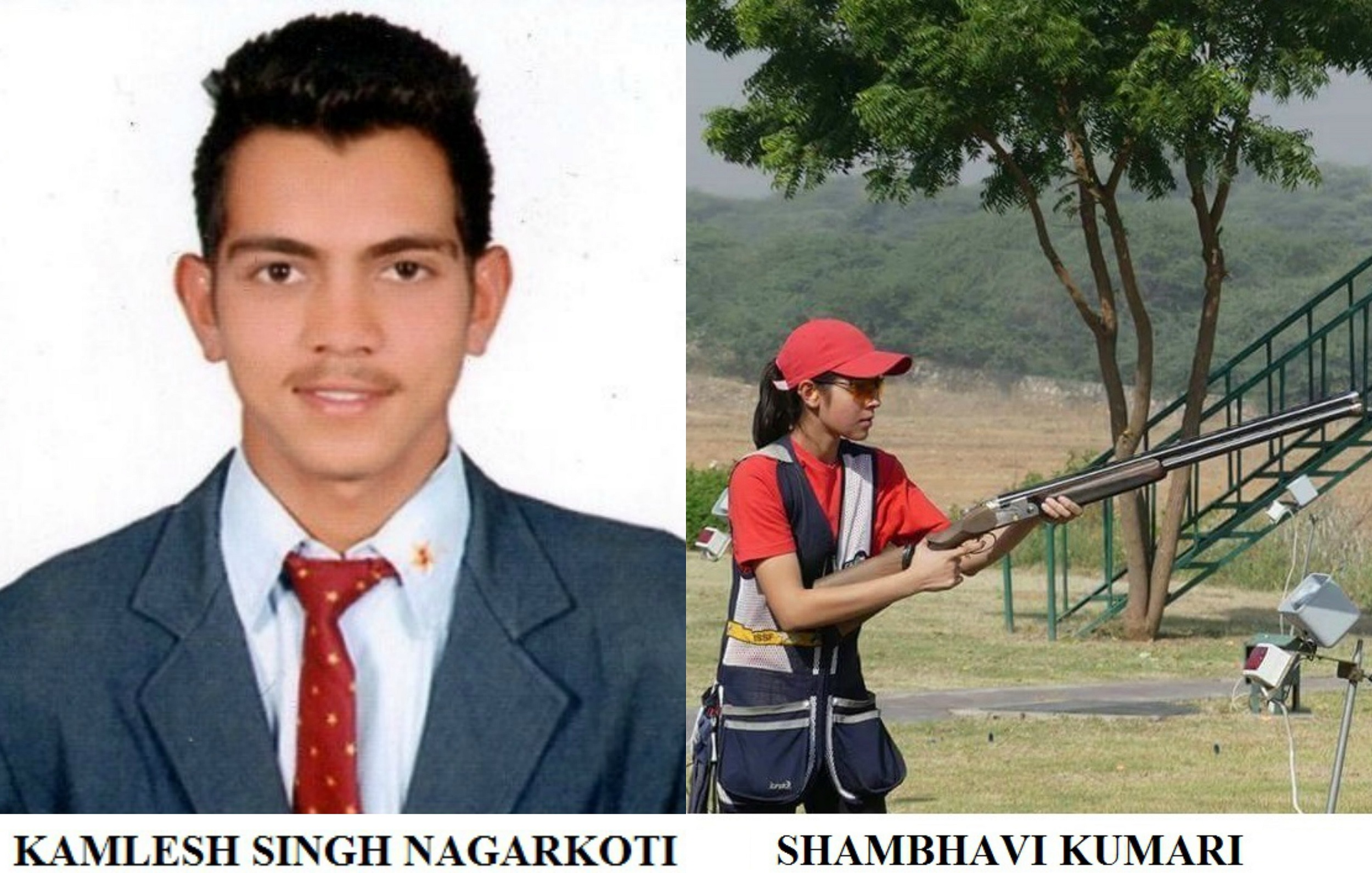 Shambhavi Kumari and Kamlesh Nagarkoti felicitated with the Rising Star Award