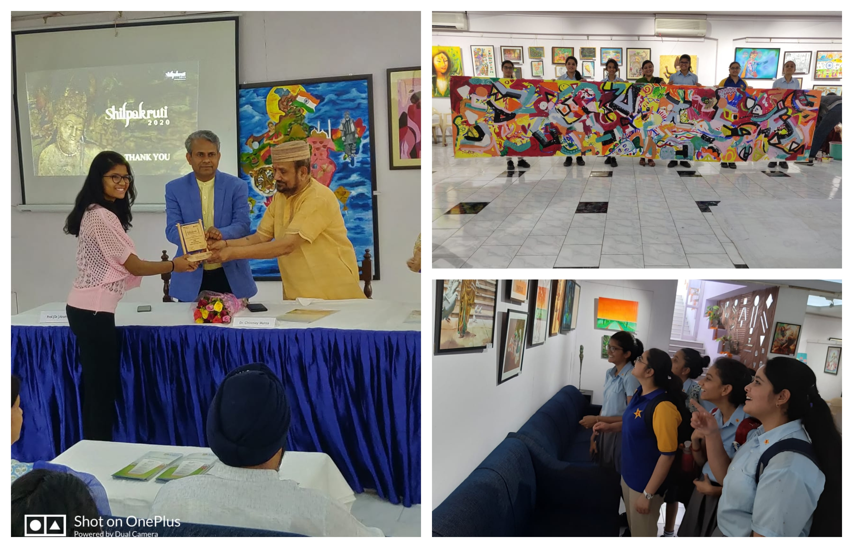 Sanskar student wins Painting Competition at Shilpakruti 2019