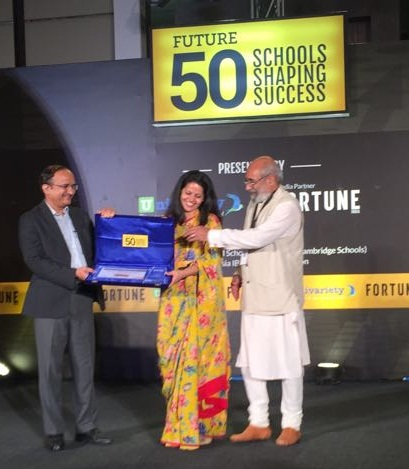 Sanskar School recognised as one of the TOP 50 SCHOOLS IN INDIA