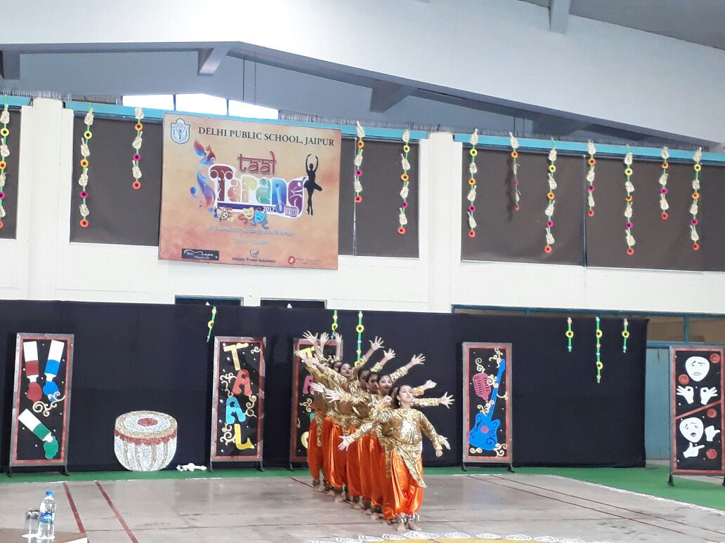 Sanskar Students shine at 'Taal Tarang 2017' Cultural Festival